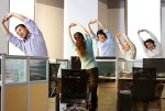 stretch at work