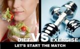 Diet or exercise? Which is REALLY better for weightloss?